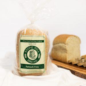 Stone Mill Bread Spinach Feta